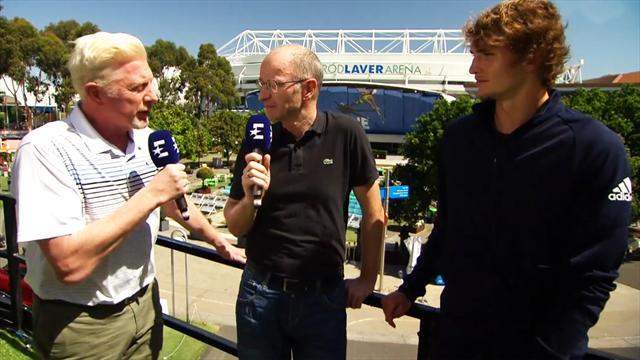 Matchball Becker - Zverev verrät: Darum lieben alle Murray