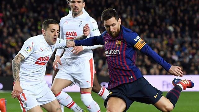 400 Tore! Unglaublicher Messi-Rekord bei Barça-Sieg