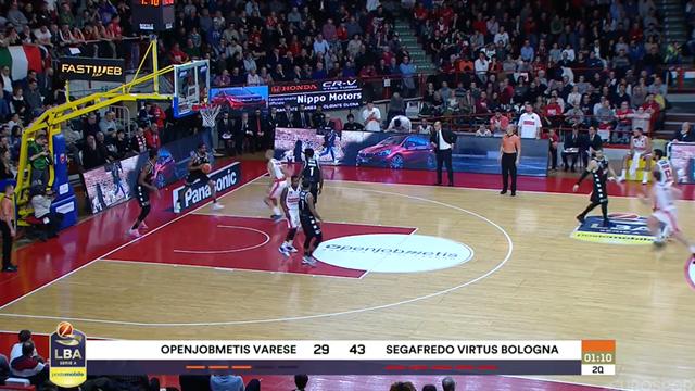 Highlights: Openjobmetis Varese-Virtus Segafredo Bologna 79-86