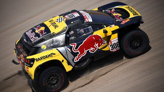 Loeb ya es segundo tras conseguir su tercera victoria