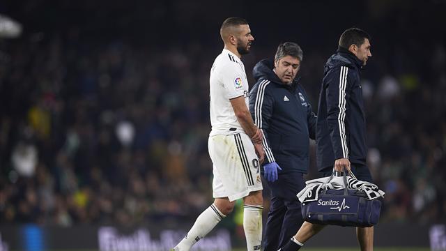 Más problemas para el Madrid: Benzema se fracturó el dedo meñique