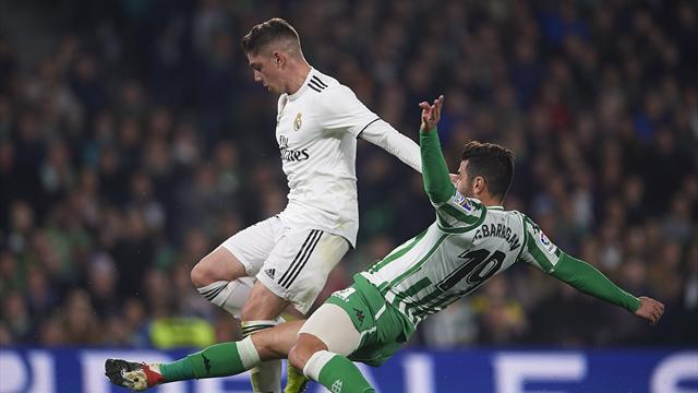 Real rettet Sieg bei Betis Sevilla