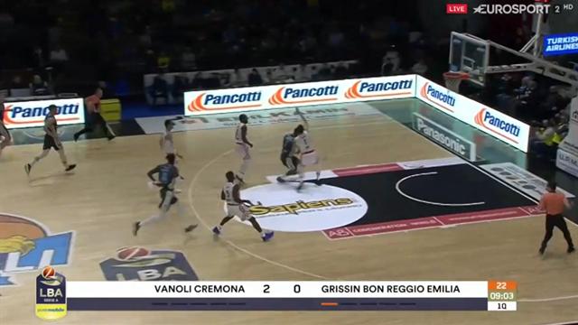 Highlights: Vanoli Cremona-Grissin Bon Reggio Emilia 98-81