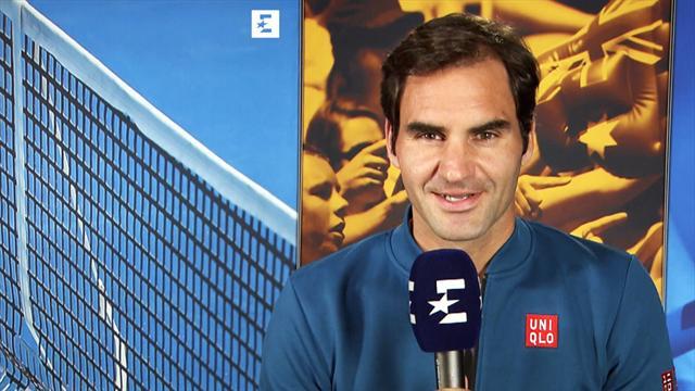 """Nur ein Fehler! Federer glänzt bei """"Who said it?"""""""