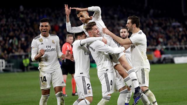 LaLiga, Betis-Real Madrid: Imaginación y un golpe de suerte contra la crisis (1-2)