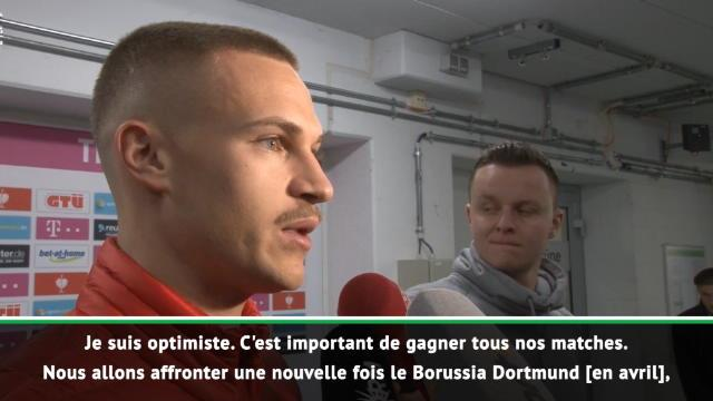 """Bayern - Kimmich : """"Gagner tous nos matches"""""""
