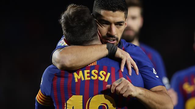 Valverde hails 'unbelievable' Messi as Barcelona star reaches LaLiga landmark