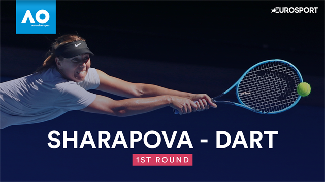 Highlights: Sharapova double bagels GB's Dart