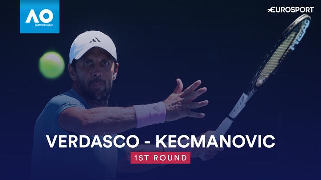 Highlights: Verdasco beats Kecmanovic in straight sets