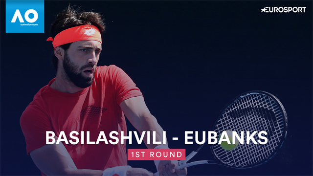 Highlights: Basilashvili sees off Eubanks in four
