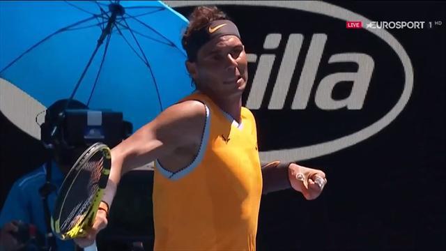 Open Australia 2019: El passing salvaje de Nadal que recordó al Rafa con 20 años