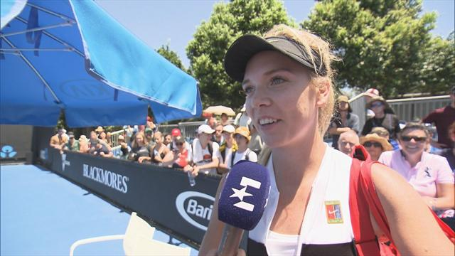 Katie Boulter: I thought I'd won at 7-4 in tie-break!