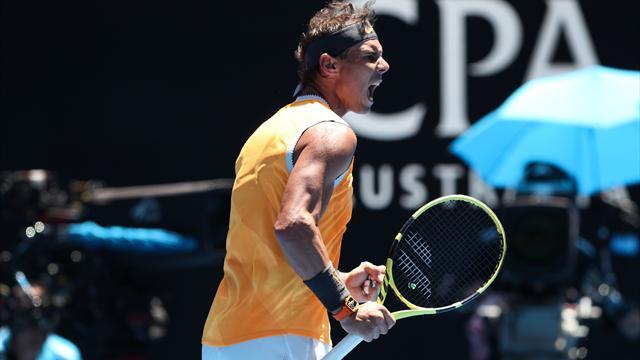 Open Australia 2019, Duckworth-Nadal: Rafa está de vuelta (4-6, 3-6 y 5-7)