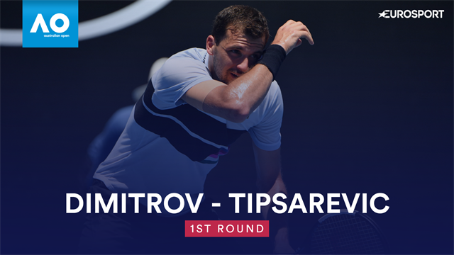 Highlights | Nach Stotterstart: Dimitrov dreht Spieß gegen Tipsarevic um