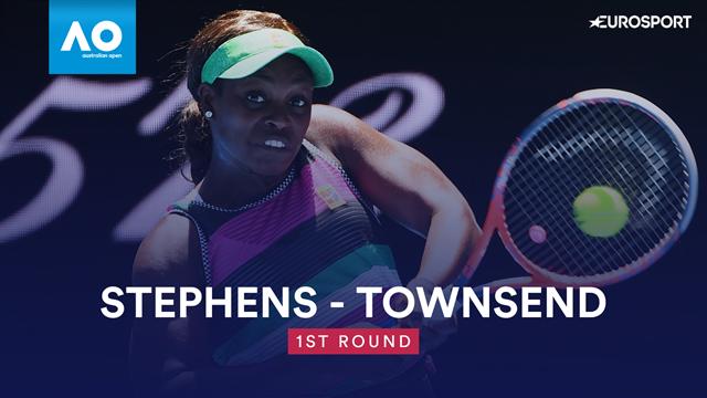 Highlights: Stephens lässt Townsend keine Chance
