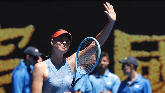 Sharapova slams male players over equality battle, but praises 'iconic' Murray