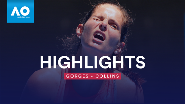 Highlights: Görges stolpert über Collins