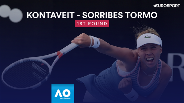 Highlights: Kontaveit defeats Sorribes Torno