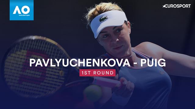 Highlights: Pavlyuchenkova overpowers Puig