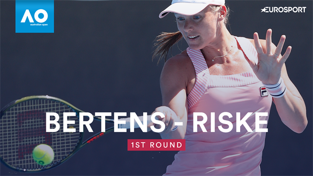 Highlights: Bertens dismisses Riske