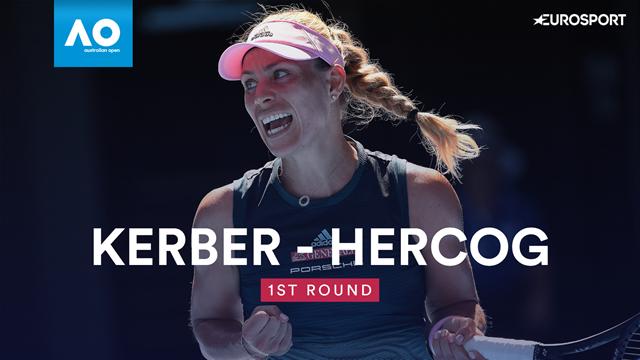 Open Australia 2019: Hercog-Kerber: Una de las grandes favoritas cumple (6-2 y 6-2)