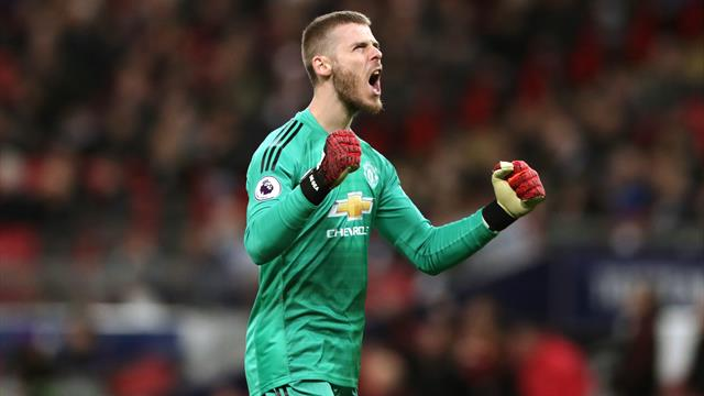 Solskjaer lavishes praise on De Gea after United maintain winning run