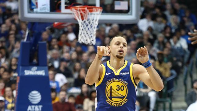 Pendant qu'Harden force, Curry régaleavec 48 points !
