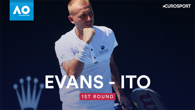 Highlights: Brit Evans rolls past Ito