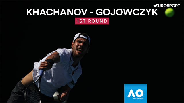 Open Australia 2019: Gojowczyk-Khachanov, vídeo resumen del partido