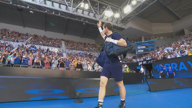 Spine-tingling ovation for Murray on court entrance