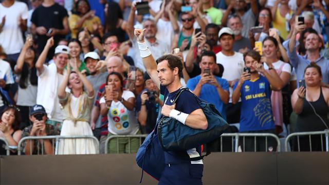L'énorme ovation réservée à Andy Murray par le public de Melbourne