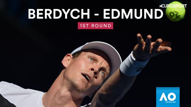 Highlights: Berdych hält Edmund in Schach
