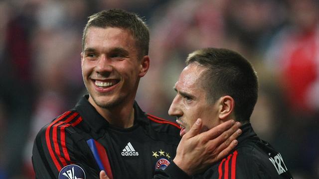 """Podolski nimmt Ribéry in Schutz: """"Scheißegal, ob Gold-Steak oder Döner"""""""