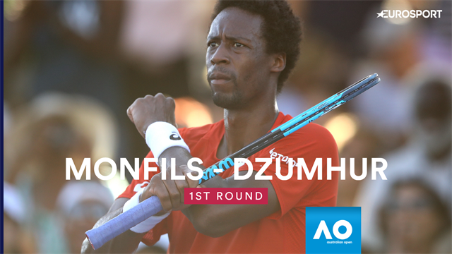 Highlights: Monfils spaziert in Runde zwei