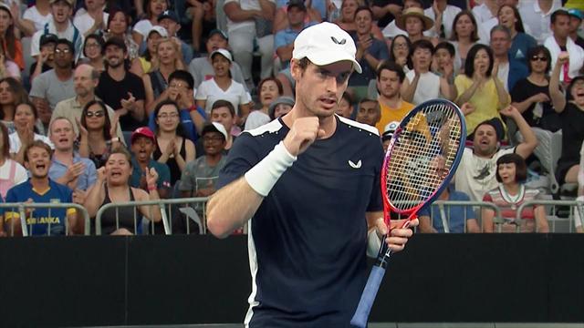 Un physique défectueux mais une main encore délicieuse : le joli point de Murray