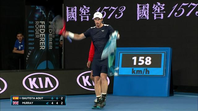 Standing ovation in Melbourne as Murray wins amazing rally