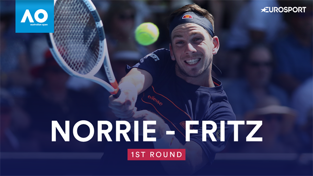 Highlights: Norrie crashes out to Fritz