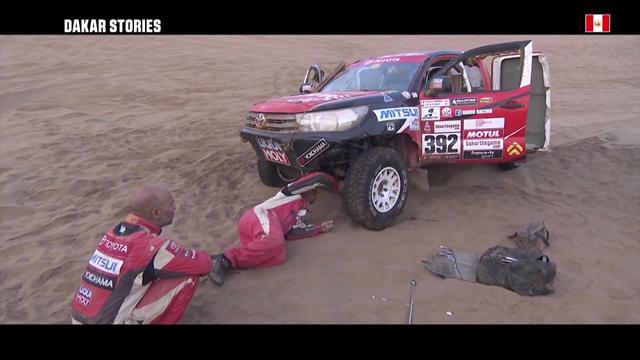 Lange Nacht in der Wüste: Motorprobleme zwingen Teams zu langen Pausen