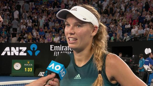 """Wozniacki nach Auftaktsieg: """"Habe versucht, fokussiert zu bleiben"""""""