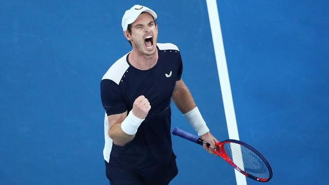 En remportant le 3e set, Murray a mis le feu à la Melbourne Arena