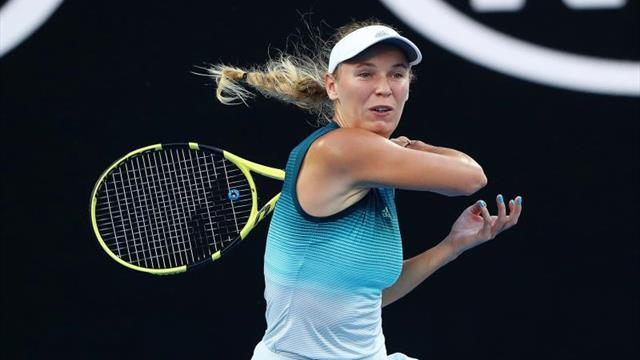 Wozniacki y Kerber, sin apuros en la primera jornada
