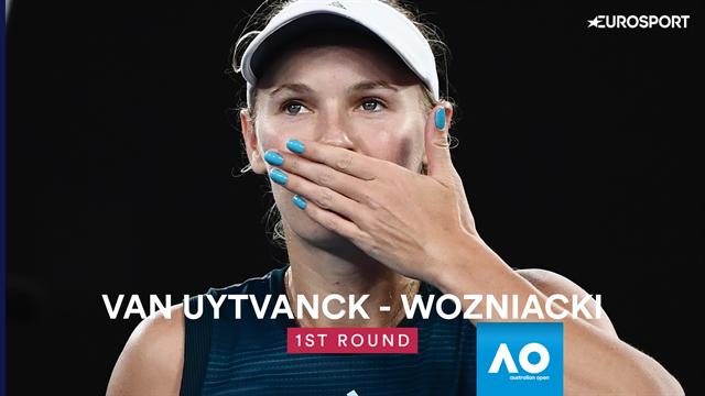 Wozniacki, tenante du titre facile pour son entrée en lice