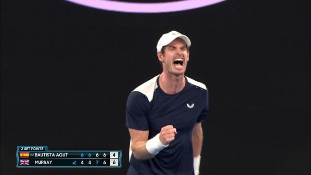 Was für ein Kämpferherz! Murray erzwingt fünften Satz