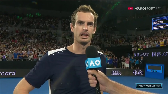 """Andy Murray commosso: """"Se fosse il mio ultimo match, sarebbe comunque una fine bellissima"""""""