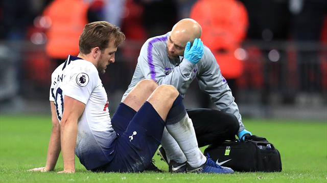 Tottenham face anxious wait to discover extent of Harry Kane ankle injury