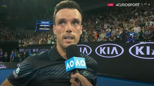 """Andy hat diese Atmosphäre verdient"": Sieger Agut würdigt ""Champion"" Murray"