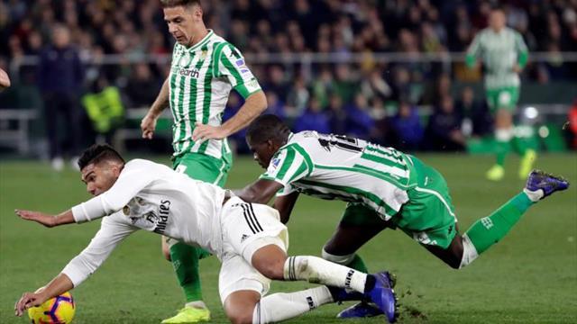 Las claves del triunfo del Real Madrid en el Benito Villamarín