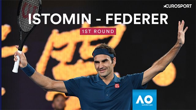 Highlights: Federer starts defence with win over Istomin