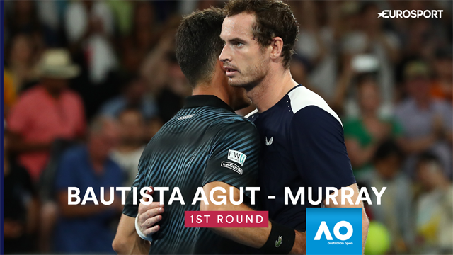 Highlights: Murray's magnificent comeback halted by Bautista Agut