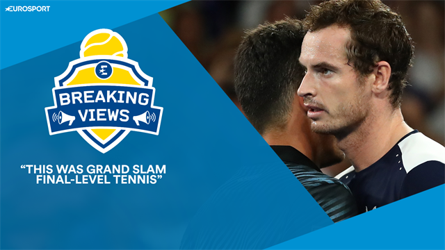 Annabel Croft: 'This was the Murray of old... Grand Slam final-level tennis'